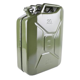 Канистра 20 литров РОССИЯ металлическая
